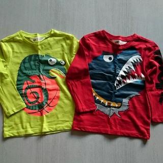 エイチアンドエム(H&M)の未使用★H&M Tシャツ EUR92(95cm)(Tシャツ/カットソー)