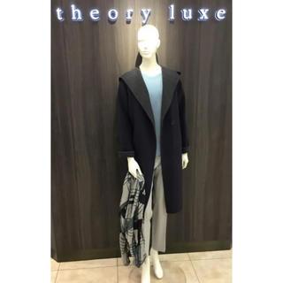 セオリーリュクス(Theory luxe)の☆美品 2017AW セオリーリュクス ダブルフェイス ガウン コート(ガウンコート)