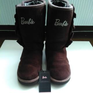 バービー(Barbie)のバービー ムートンブーツ 21センチ(ブーツ)