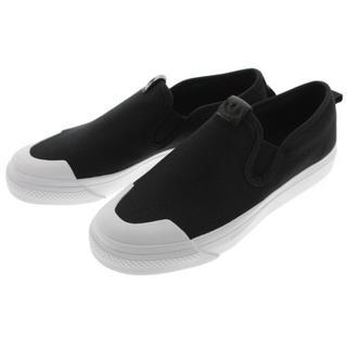 アディダス(adidas)の新品未使用 adidas×ニッツァ スリッポン ブラック 23.5cm(スリッポン/モカシン)