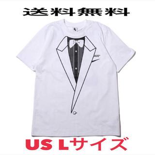 NIKE - 込 NIKE OFF WHITE Tシャツ ナイキ オフホワイト Lサイズ