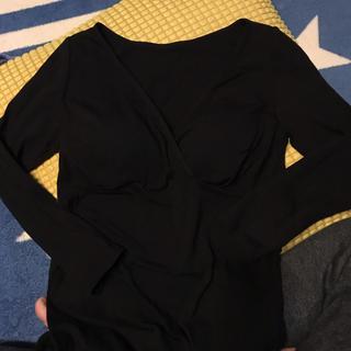 ムジルシリョウヒン(MUJI (無印良品))のマタニティ授乳服 カップ付きカットソー(マタニティトップス)