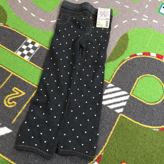ムジルシリョウヒン(MUJI (無印良品))の無印 タイツパンツ 90から100 新品未使用(パンツ/スパッツ)