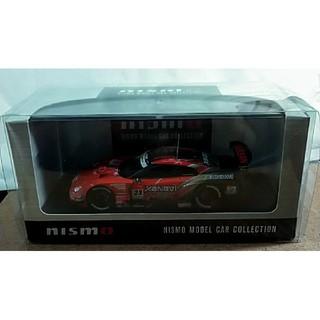 ニッサン(日産)の未使用 EBBRO '08 XANAVI NISMO GT-R #23 ニスモ箱(ミニカー)