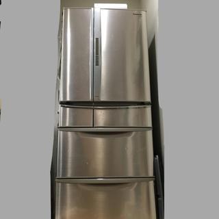 パナソニック(Panasonic)のパナソニック 冷蔵庫 2009年式 NR-F473TM-N(冷蔵庫)