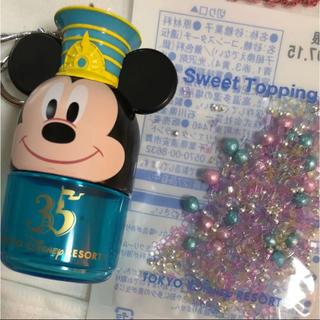 ディズニー(Disney)のディズニースウィーツトッピング 35周年スーベニアケース(菓子/デザート)