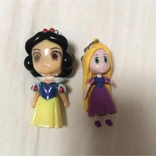 Disney - ラプンツェル 白雪姫 キーホルダー