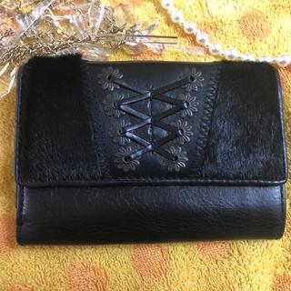 ラルフローレン(Ralph Lauren)のラルフローレン ハラコ折財布Lタイプ  (財布)