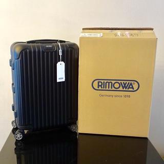 リモワ(RIMOWA)の【正規品本物】新品リモワ サルサ37L 4輪  機内持込可能な最大サイズ(トラベルバッグ/スーツケース)