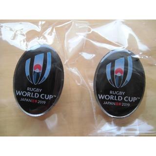 未開封★非売品★ラグビーワールドカップ W杯 2019 ピンバッジ 2個set(ラグビー)