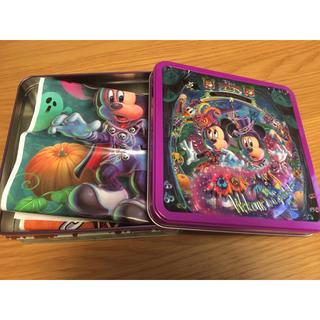 ディズニー(Disney)の東京 ディズニー ランド シー ミニタオル ハンカチ 35周年記念 袋付 箱付(キャラクターグッズ)