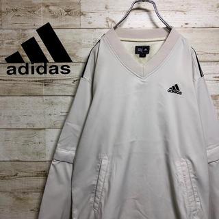 アディダス(adidas)の【90's 】【アディダス】【旧タグ】【ナイロン】【プルオーバージャケット】(ナイロンジャケット)