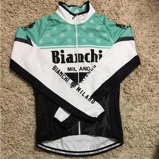 ビアンキ(Bianchi)のBIANCHI ビアンキ サイクルジャージ ジャケット 秋冬(ウエア)