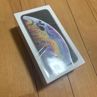 アップル(Apple)の未使用 ジャンク SIMフリー iPhone Xs 512gb・シルバー(スマートフォン本体)