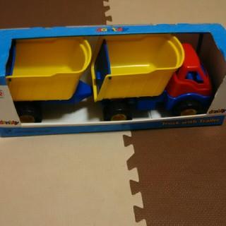 ボーネルンド(BorneLund)のボーネルンド dantoy社 ダンプカー  truck with trailer(その他)
