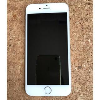 エヌティティドコモ(NTTdocomo)のiPhone 6s Silver 128GB docomo(携帯電話本体)