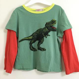 キャスキッドソン(Cath Kidston)のcath kids ロンT 重ね着風 恐竜 100 95 男の子(Tシャツ/カットソー)