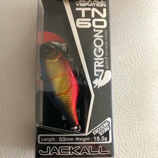 ジャッカル(JACKALL)のジャッカル TN60 トリゴン HSインパクトレッド 新品未使用(ルアー用品)