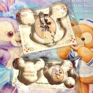 ディズニー(Disney)の新品 Disney ミッキーマウス クッキー型 パンケーキ型 抜き型 クッキー(調理道具/製菓道具)