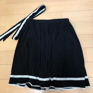 シマムラ(しまむら)のしまむら☆フォーマル風スカート☆リボンベルト付☆USED(ひざ丈スカート)