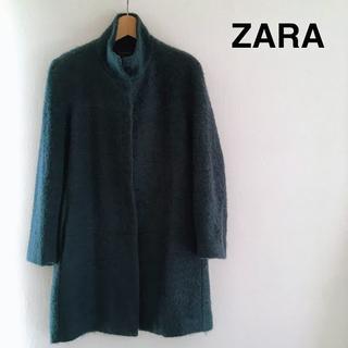 ザラ(ZARA)のザラ モコモコ コート サイズM位 ZARA(ロングコート)