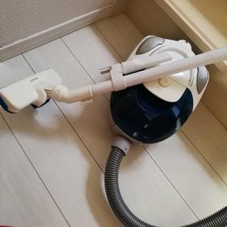 シャープ(SHARP)の★送料無料★シャープSHARP紙パックレス掃除機★ブルー系☆(掃除機)
