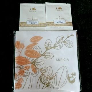 ルピシア(LUPICIA)のLUPICIA ティーバッグ ペーパーナプキン セット(茶)