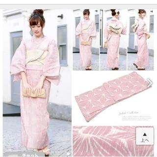 ピンク 浴衣