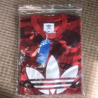 アベイシングエイプ(A BATHING APE)のXO adidas X A BATHING APE BAPE SSL Tシャツ(Tシャツ/カットソー(半袖/袖なし))