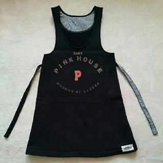ピンクハウス(PINK HOUSE)のベビー ピンクハウス ♥ ジャンバー スカート(ワンピース)