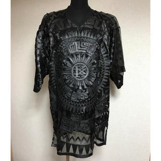 ココントーザイ(Kokon to zai (KTZ))のKTZレザーBIGTシャツ(Tシャツ(半袖/袖なし))