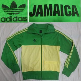 アディダス(adidas)のアディダス サッカー国別ジャマイカ トラックトップ ジャケット緑/黄ジャージ(ジャージ)