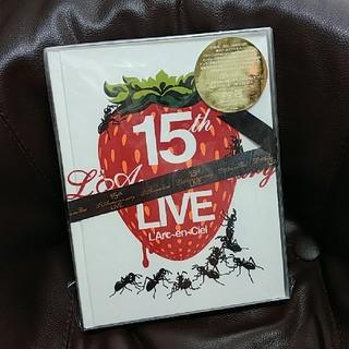 ラルクアンシエル(L'Arc~en~Ciel)のL'Arc~en~Ciel 15th LIVE DVD(ミュージック)