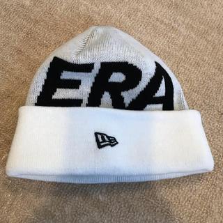 NEW ERA - 美品 ニューエラ NEW ERA ニットキャップ ニット帽 ホワイト