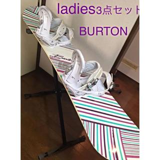 バートン(BURTON)のレディース 3点 セット BURTON FEATHER /  stiletto(ボード)