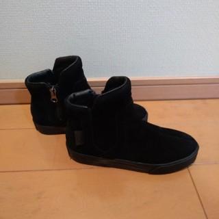 ズーム(Zoom)のZoom ショートブーツ 黒 21cm(ブーツ)