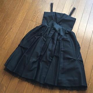 アクアガール(aquagirl)の未使用☆アクアガール カラス callasドレス フォーマル(ミディアムドレス)