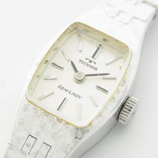 テクノス(TECHNOS)のテクノス 動作品 アンティーク ヴィンテージ 手巻き 腕時計 ウォッチ(腕時計)