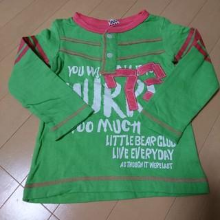 リトルベアークラブ(LITTLE BEAR CLUB)の超美品、リトルベアクラブ、ロンT100(Tシャツ/カットソー)