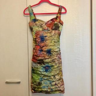 ニコルミラー(Nicole Miller)のワンピースドレス♡ニコルミラーnicolemiller(ミニワンピース)