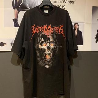 バレンシアガ(Balenciaga)のvetements 17aw SKULL(Tシャツ/カットソー(半袖/袖なし))