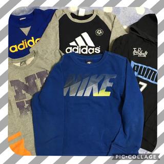 ナイキ(NIKE)の男の子トレーナーまとめ売り5点セット☆150センチ☆ナイキアディダスプーマ(Tシャツ/カットソー)