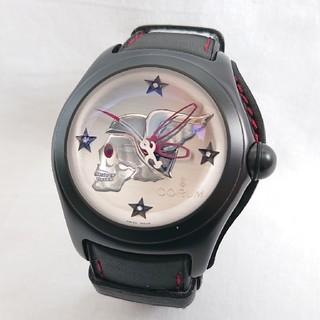 コルム(CORUM)の超希少! CORUM バブル ナイトフライヤー 72/99本限定! ダイヤ文字盤(腕時計(アナログ))