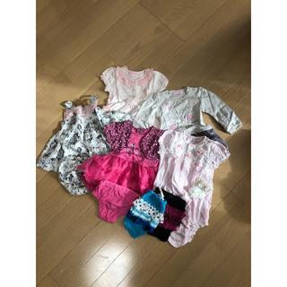 グラマジャマ(glamajama)の60~70お洋服セット(ロンパース)