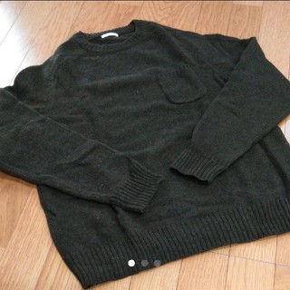 GU - GU クルーネックセーター M