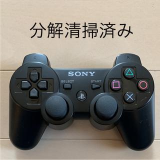 プレイステーション3(PlayStation3)の★美品★ SONY PS3 純正 コントローラー DUALSHOCK3 黒(家庭用ゲーム本体)