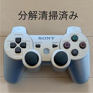 プレイステーション3(PlayStation3)の★美品★ SONY PS3 純正 コントローラー DUALSHOCK3 銀(家庭用ゲーム本体)