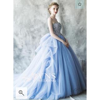 人気のブルーグレー ドレス お色直し