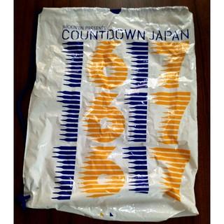COUNTDOWN JAPAN 16/17 ビニールバッグ(ミュージシャン)