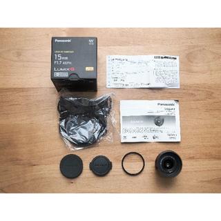 Panasonic - LEICA DG SUMMILUX 15mm/F1.7